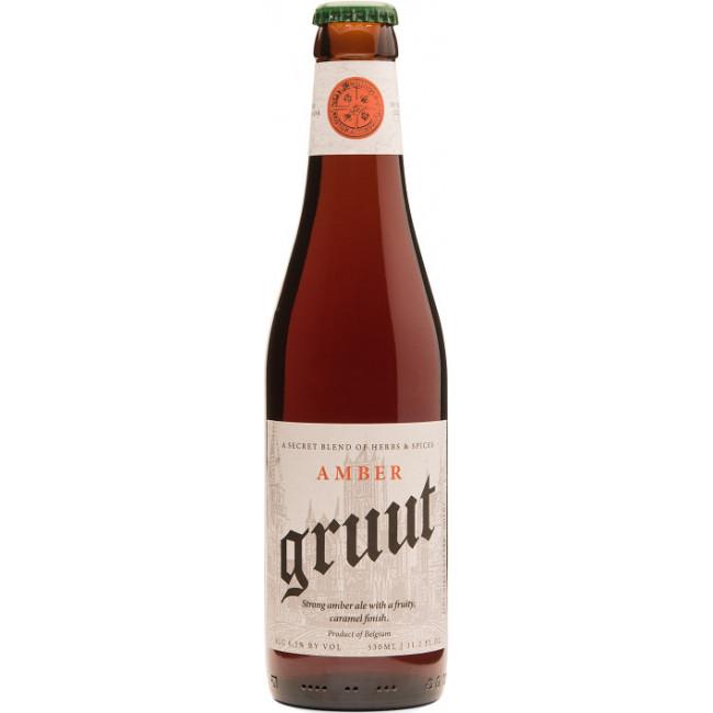 "Пиво ""Gruut"" Amber Янтарное крафтовое, 0.33 л"