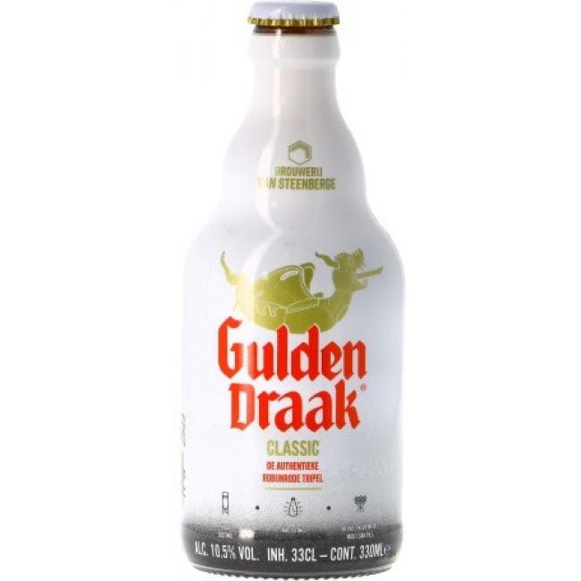 """Пиво """"Gulden Draak"""" Тёмное фильтрованное 10,5%, 0.33 л"""