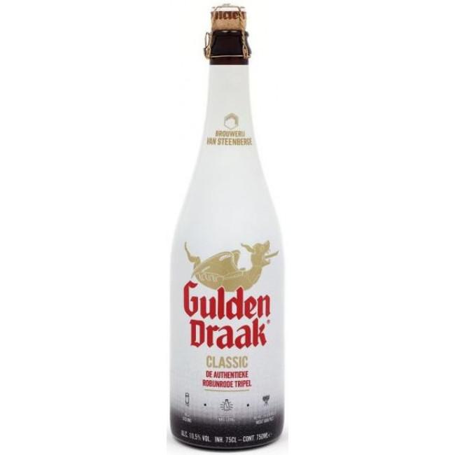 """Пиво """"Gulden Draak"""" Тёмное фильтрованное 10,5%, 0.75 л"""