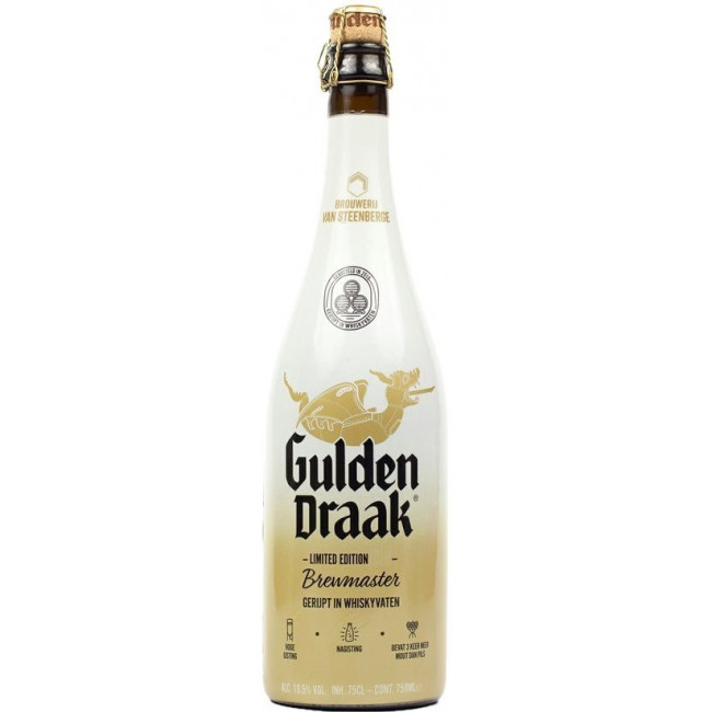 "Пиво ""Gulden Draak"" The Brewmasters Edition Средне-янтарное 10,5%, 0.75 л"