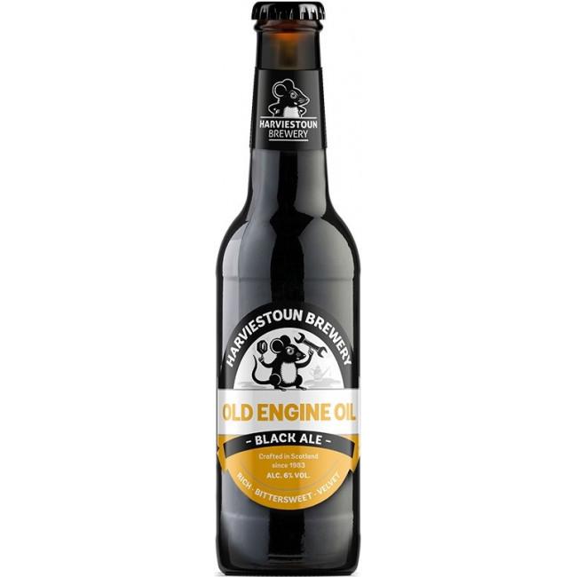 Пиво Harviestoun Old Engine Oil Тёмное фильтрованное алк. 6%, 0.33 л