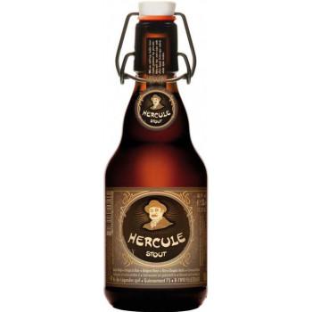 Пиво Hercule Stout Тёмное нефильтрованное алк. 9%, 0.33 л