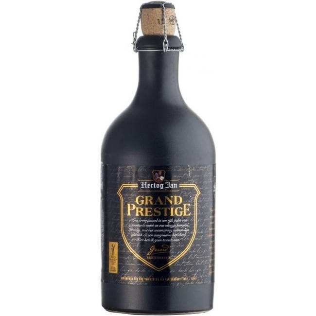 Пиво Hertog Jan Grand Prestige Тёмное нефильтрованное, алк. 10%, 0.5 л