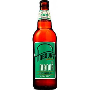 Пиво Hobsons Manor Светлое фильтрованное алк. 4,2%, 0.5 л