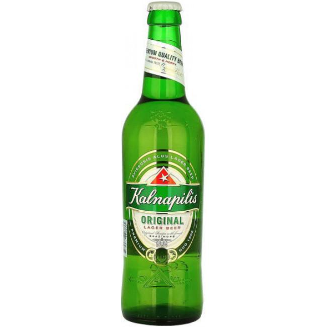 Пиво Kalnapilis Original Светлое фильтрованное алк. 5%, 0.5 л