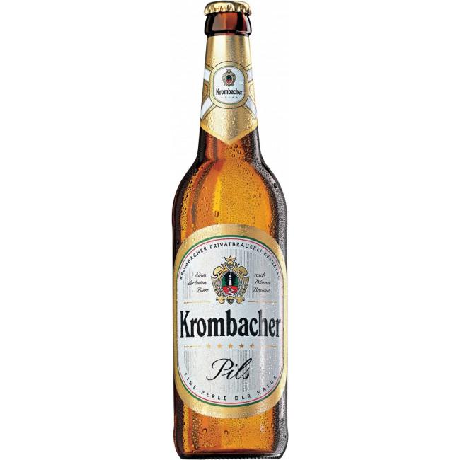 Пиво Krombacher, Pils, 0.5 л