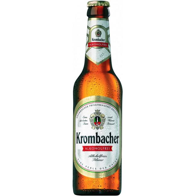 Пиво Krombacher Pils Alkoholfrei Безалкогольное, 0.33 л