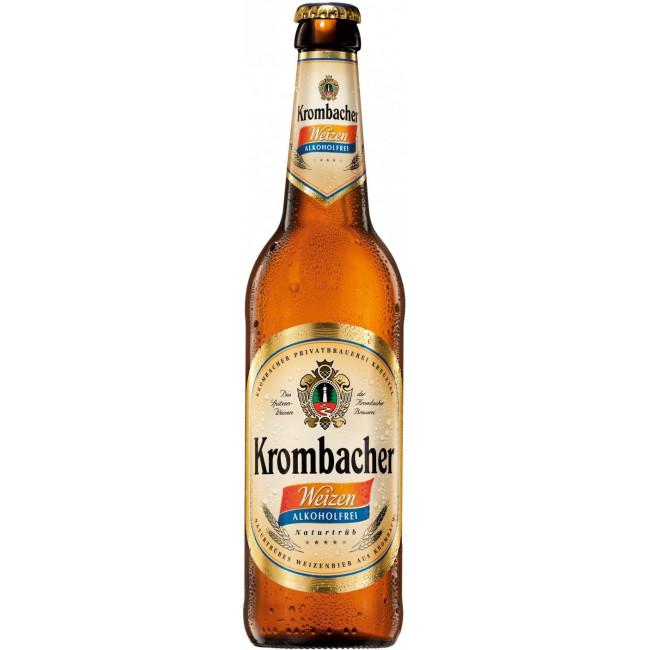 Пиво Krombacher, Weizen Alkoholfrei, 0.5 л