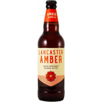 Пиво Lancaster Amber Янтарное фильтрованное 3,6%, 0.5 л
