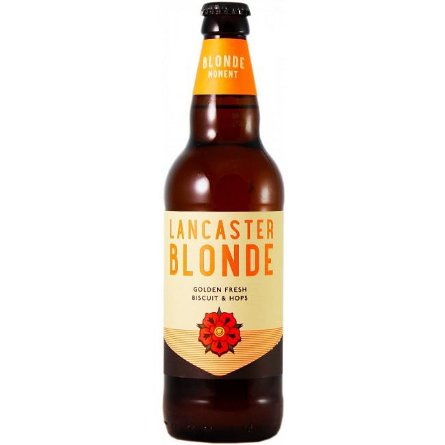 Пиво Lancaster Blonde Светлое фильтрованное алк. 4%, 0.5 л