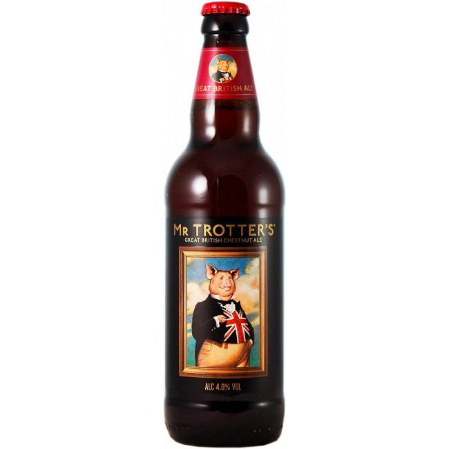 Пиво Lancaster Mr Trotter's Chestnut Ale Британский каштановый эль алк. 4%, 0.5 л