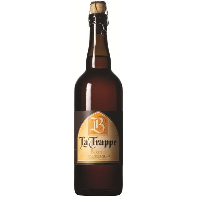 Пиво La Trappe Blond Светлое фильтрованное алк. 6,5%, 0.75 л