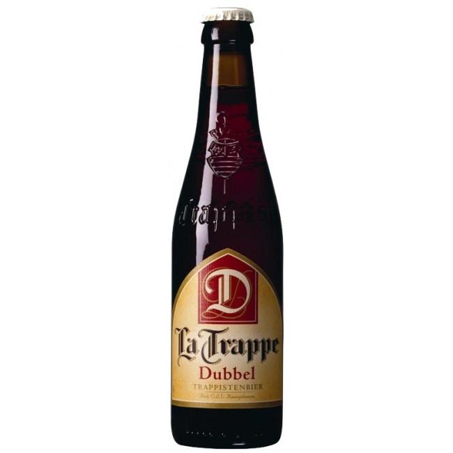 Пиво La Trappe Dubbel Тёмное нефильтрованное алк. 7%, 0.33 л