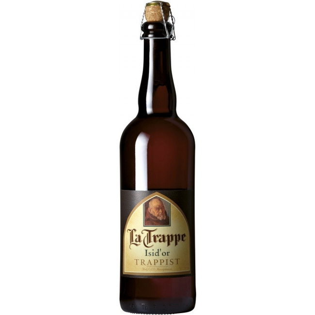 Пиво La Trappe Isid'or Trappist Янтарное нефильтрованное алк. 7,5%, 0.75 л