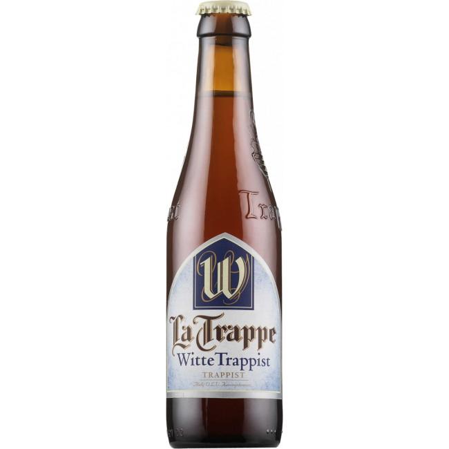 Пиво La Trappe Witte Trappist Светлое нефильтрованное алк. 5,5%, 0.33 л