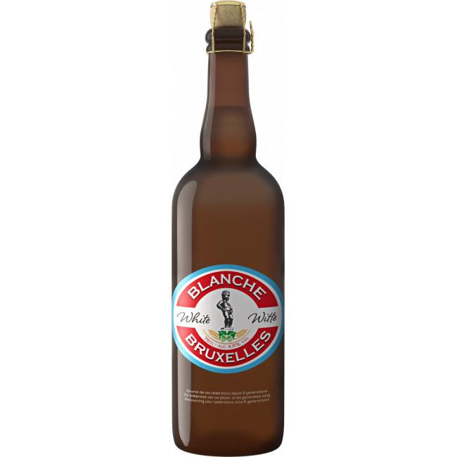 Пиво Lefebvre Blanche de Bruxelles Светлое нефильтрованное алк. 4,5%, 0.75 л