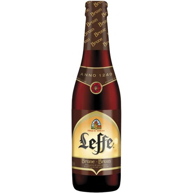 Пиво Leffe Brune Тёмное фильтрованное алк. 6,5%, 0.33 л