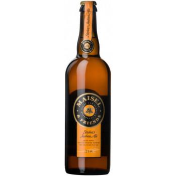 Пиво Maisel & Friends, Stefan's Indian Ale Светлое нефильтрованное, 0.75 л