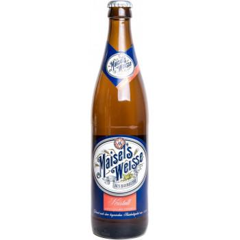 Пиво Maisel's Weisse Kristall Светлое пшеничное 5,1%, 0.5 л