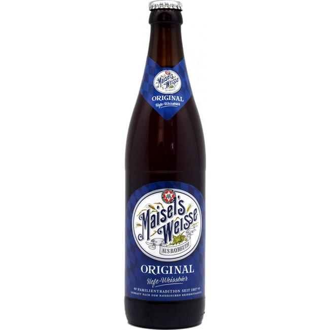 Пиво Maisel's Weisse Original Пшеничное нефильтрованное 5,2%, 0.5 л
