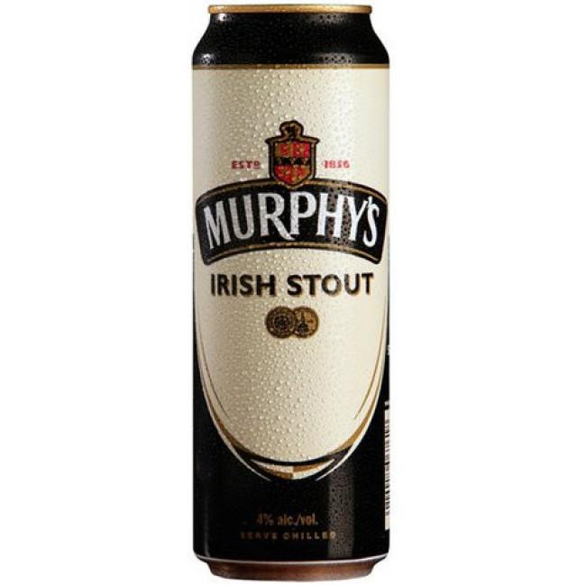 Пиво Murphy's Irish Stout Ирландский стаут с азотной капсулой, банка 0,5 л
