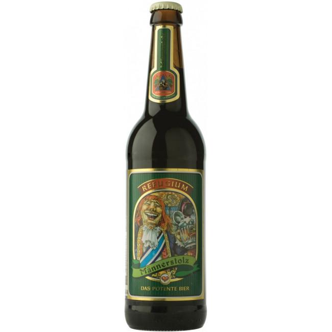 Пиво Neuzeller Kloster-Brau Mannerstolz Мужская гордость рыцаря Кальбуца, 0.5 л
