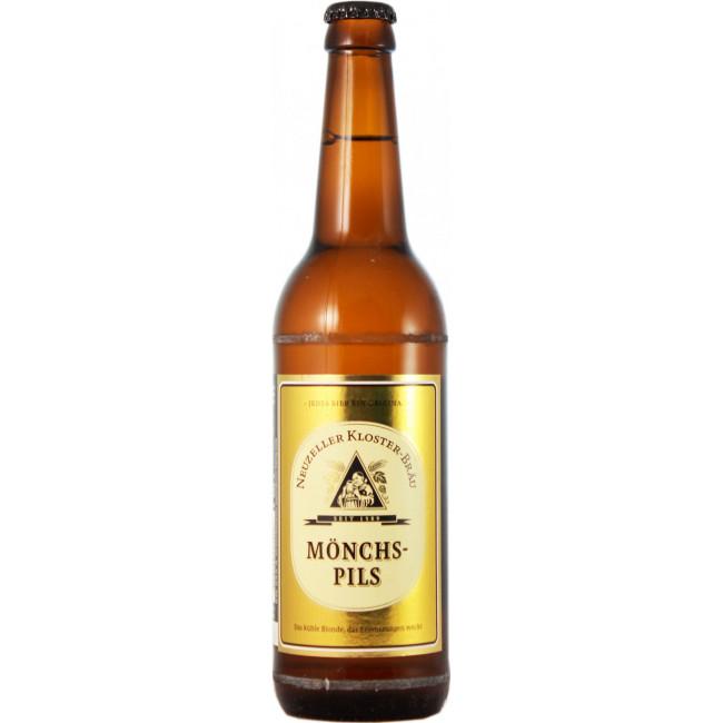 Пиво Neuzeller Kloster-Brau Closter Zell Монастырская келья светлое, 0.5 л