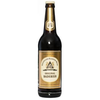 Пиво Neuzeller Kloster-Brau Original Badebier Оригинальное пиво для бани алк. 5,2%, 0.5 л