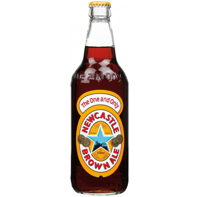 Пиво Newcastle Brown Ale Коричневый фильтрованный эль 4,7%, 550 мл