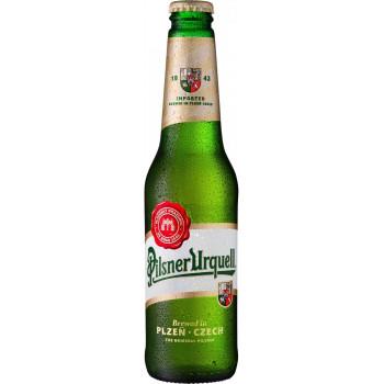 Пиво Pilsner Urquell Светлое фильтрованное 4,4%, 0.33 л