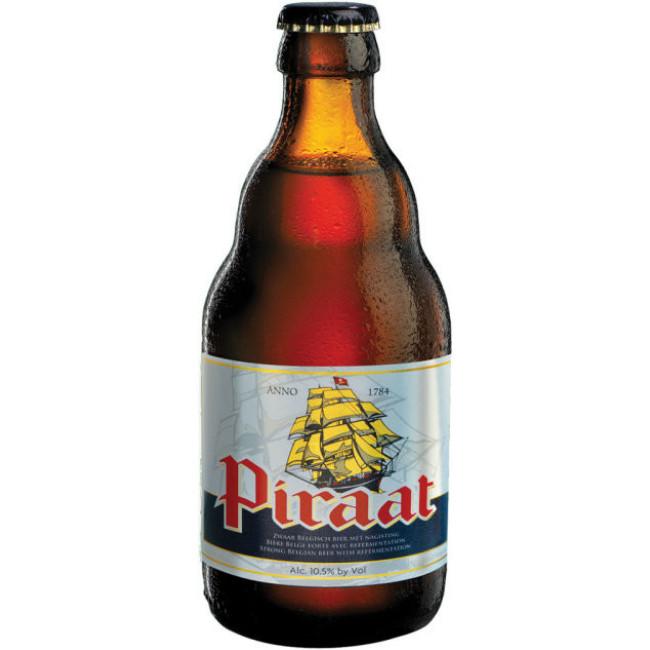 Пиво Piraat Светлое фильтрованное алк. 10,5%, 0.33 л