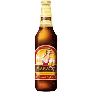 Пиво Prazacka Svetle Светлое фильтрованное 4%, 0.5 л