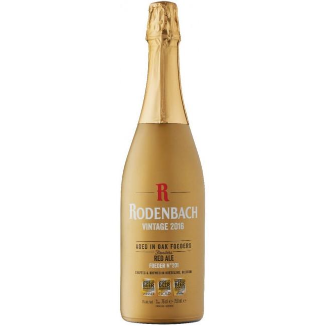 """Пиво """"Rodenbach"""" Vintage Тёмное фильтрованное пастеризованное 7%, 2017 год, 0.75 л"""