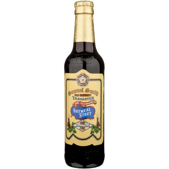 Пиво Samuel Smith's Celebrated Oatmeal Stout Чёрный овсяный стаут, 355 мл