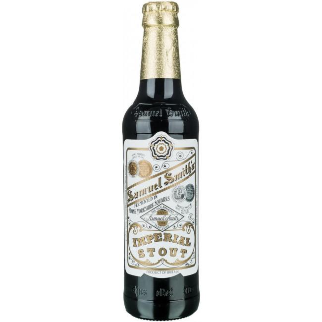 Пиво Samuel Smith's Imperial Stout Тёмное фильтрованное 7%, 355 млут