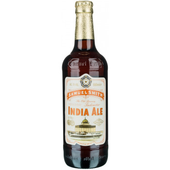 Пиво Samuel Smith's India Ale Средне-светлое крафтовое, 355 мл