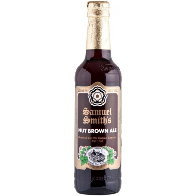 Пиво Samuel Smith's Nut Brown Ale Орехово-коричневый эль, 355 мл