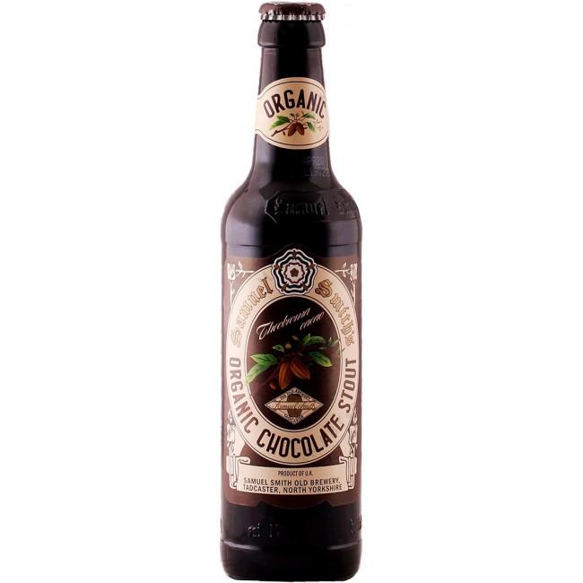 Пиво Samuel Smith's Organic Chocolate Stout Тёмное алк 5%, 355 мл