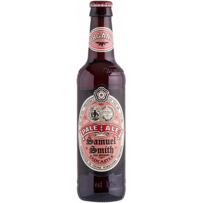 Пиво Samuel Smith's Organic Pale Ale Средне-янтарное 5%, 355 мл