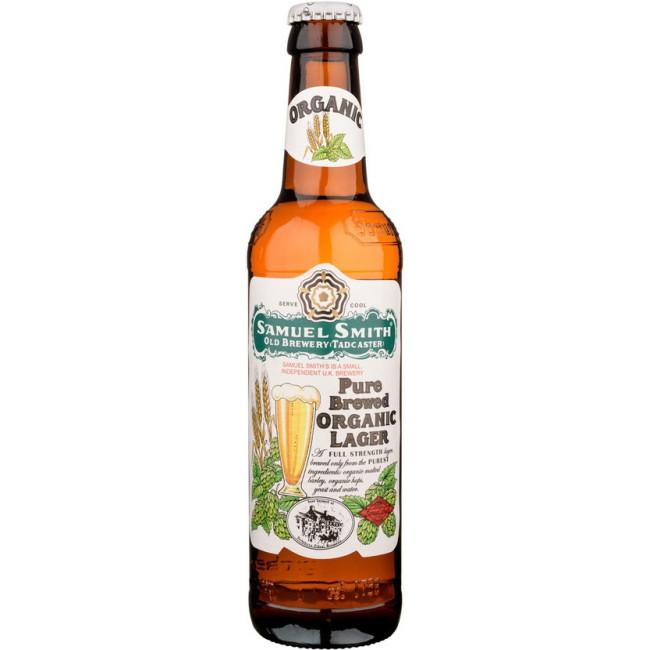 Пиво Samuel Smith's Pure Brewed Organic Lager Органический светлый лагер, 355 мл