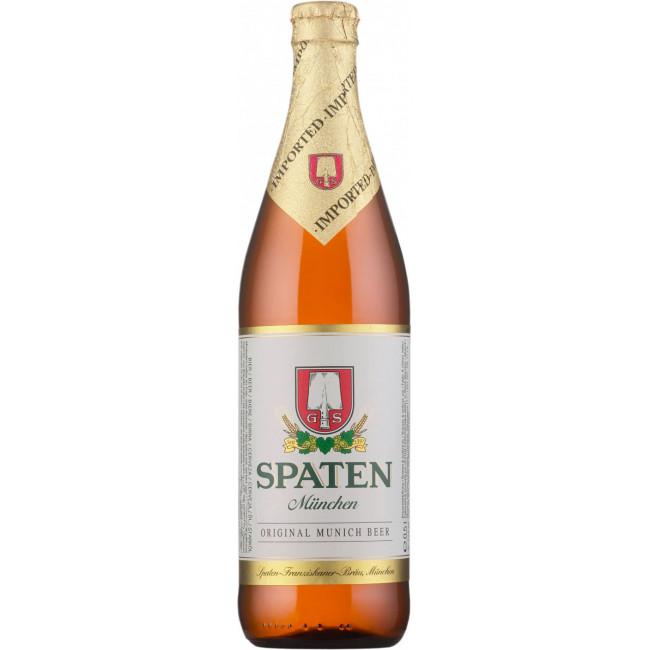 Пиво Spaten Munchen Hell Светлое фильтрованное алк. 5,2%, 0.5 л