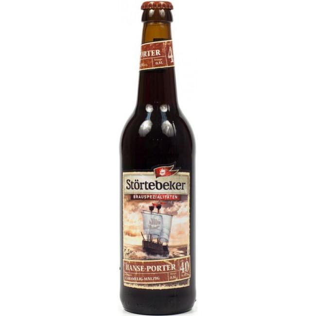Пиво Stortebeker Hanse-Porter Тёмное фильтрованное алк. 4%, 0.5 л