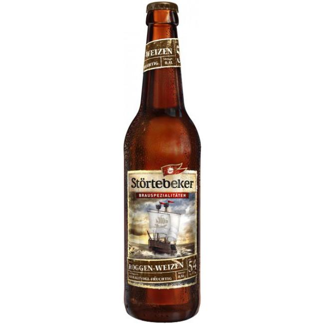 Пиво Stortebeker Bernstein-Weizen Пшеничное светлое алк. 5,3%, 0.5 л