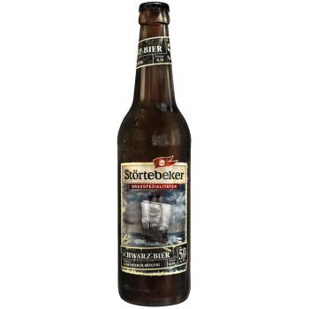 Пиво Stortebeker Schwarzbier Тёмное фильтрованное алк. 5%, 0.5 л