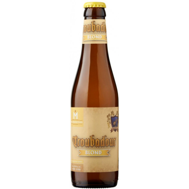 Пиво The Musketeers Troubadour Blond Светлое крафтовое алк. 6,5%, 0.33 л
