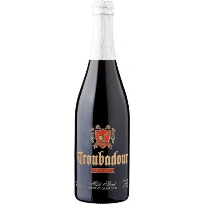 Пиво The Musketeers Troubadour Obscura Тёмное крафтовое нефильтрованное алк. 8,2%, 0.75 л