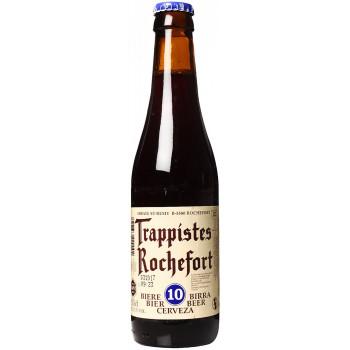 """Пиво """"Trappistes Rochefort"""" 10 Тёмное фильтрованное 11,3%, 0.33 л"""