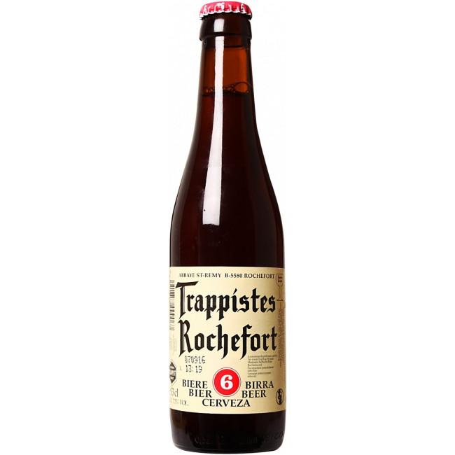 """Пиво """"Trappistes Rochefort"""" 6 Тёмное фильтрованное 7,5%, 0.33 л"""