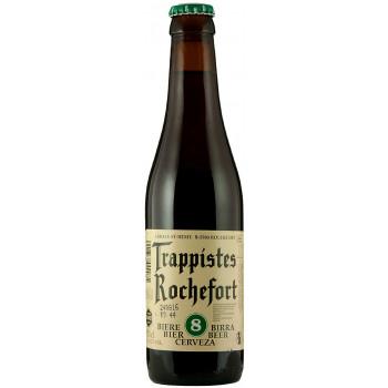 Пиво Trappistes Rochefort 8 Тёмное нефильтрованное алк. 9,2%, 0.33 л