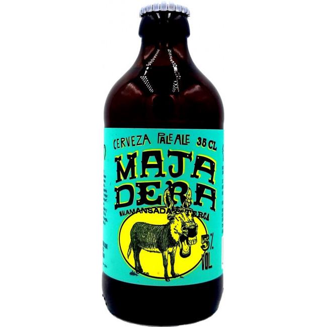 Пиво Treintaycinco Majadera Pale Аle Светлое крафтовое нефильтрованное, 350 мл